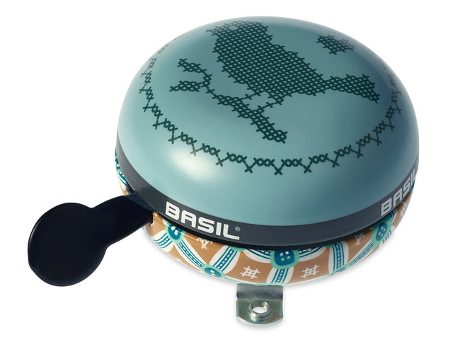 Basil Big Bell Bohème Bike Bell turquoise/colourful